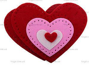 Набор для шитья шкатулки «Сердце», 3265, фото