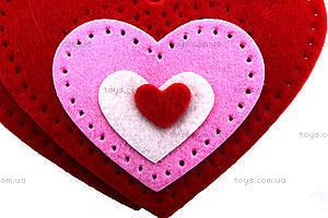 Набор для шитья шкатулки «Сердце», 3265, игрушки