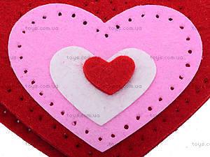 Набор для шитья шкатулки «Сердце», 3265, детские игрушки