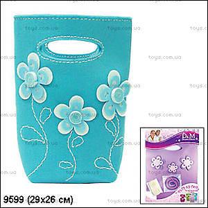 Набор для шитья сумочки «Бирюзовые узоры», 9599