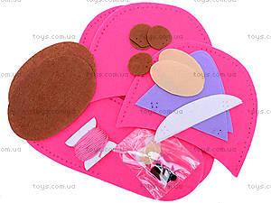 Набор для шитья тапочек «Медвежонок-соня», 3077, фото