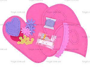 Набор для шитья тапочек «Принцесса», 3100