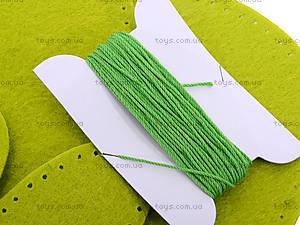 Набор для шитья «Зеленые рукавички», 31381, фото
