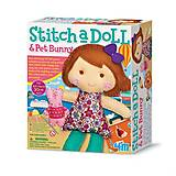 Набор для шитья «Кукла и кролик», 00-02765, купить