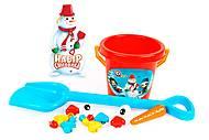 Набор для создания снеговика, 6498, іграшки