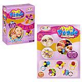 Набор для создания украшений «Pop Beads: колечки» 72 элемента, HM1612A, магазин игрушек