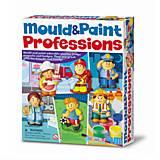 Набор для творчества 4M «Профессии», 00-03545, toys