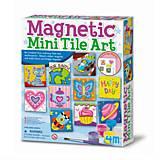 Набор для творчества 4M «Разрисуй магниты», 00-04563, доставка