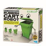 Набор для творчества 4M «Робот-мусорный бак», 00-03371, отзывы