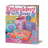 Набор для творчества 4M «Вышитые коробочки», 00-04666, игрушки
