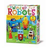Набор для творчества 4M «Заводные роботы», 00-04655, отзывы