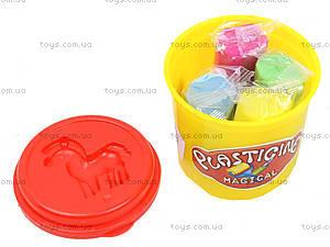 Набор для лепки «Пластилин в банке», 9142, фото