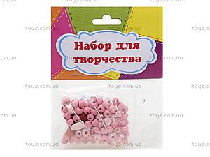 Набор для творчества «Цветы и бусы», NT2501, игрушки