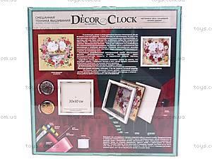 Набор для творчества «Часы Декор Клок», DC-01, отзывы