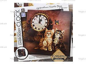 Набор для творчества «Часы Embroidery clock», , toys.com.ua
