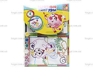 Набор для творчества «Цветные контуры. Фиксики», VT4402-25, фото