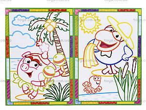 Набор для творчества «Цветные контуры. Фиксики», VT4402-25, игрушки