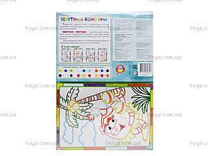Набор для творчества «Цветные контуры. Фиксики», VT4402-25, детские игрушки