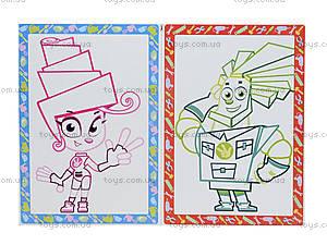 Набор для творчества «Цветные контуры. Фиксики», VT4402-25, іграшки