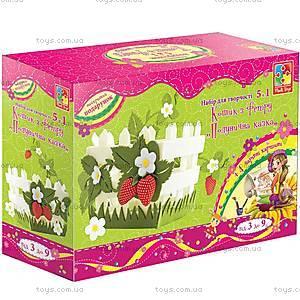 Набор для шитья «Клубничное настроение», VT2401-0910, Украина