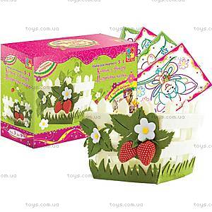 Набор для шитья «Клубничное настроение», VT2401-0910, набор