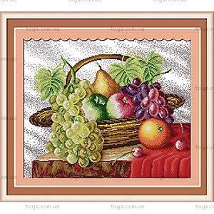 Набор для творчества «Корзина с фруктами», J005