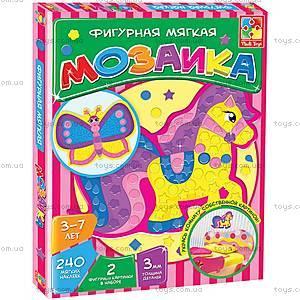Фигурная мозаика «Паровоз», VT2301-02, игрушки