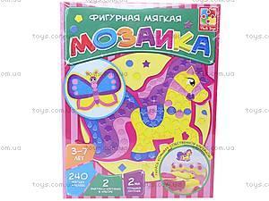 Фигурная мозаика «Паровоз», VT2301-02, детские игрушки