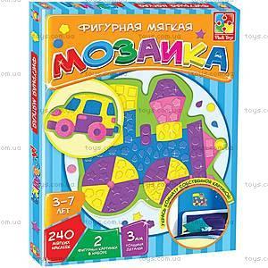 Фигурная мозаика «Паровоз», VT2301-02, магазин игрушек
