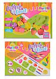 Набор для творчества «Мистер тесто-Mini fruit», 71201, іграшки