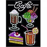 Набор для творчества пайетками «Кафе», SA1424, фото