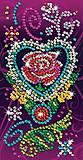 Набор для творчества пайетками «Роза», SA1419