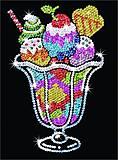 Набор для творчества пайетками «Волшебное мороженое», SA1305, купить