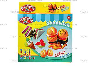 Набор пластилина для лепки «Сендвич», 9167, игрушки