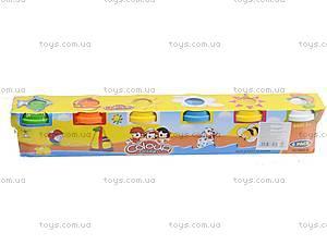 Набор для творчества - пластилин для лепки, 6603-6, игрушки