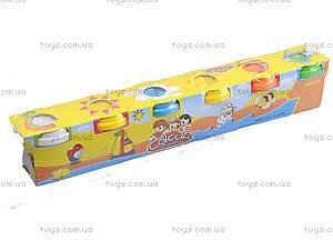 Набор для творчества - пластилин для лепки, 6603-6, магазин игрушек