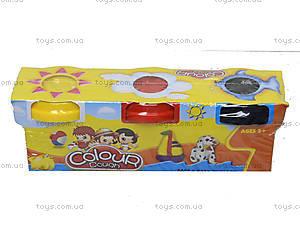 Пластилин для лепки в наборе, 6603-3, фото