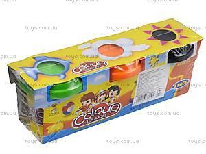 Пластилин для лепки в наборе, 6603-3, игрушки