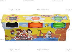 Пластилин для лепки в наборе, 6603-3, детские игрушки