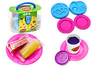 Набор пластилина для лепки «Закуски», 8041D, купить