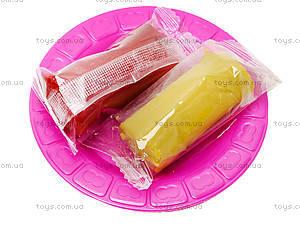 Набор пластилина для лепки «Закуски», 8041D, цена