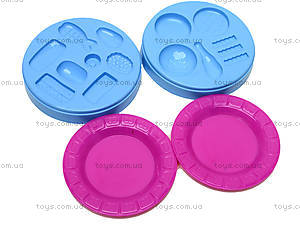 Набор пластилина для лепки «Закуски», 8041D, магазин игрушек