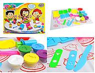 Пластилин для творчества, 6 цветов в коробке, 6215