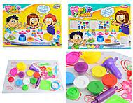 Набор для творчества, 6 цветов пластилина, 6218, купить