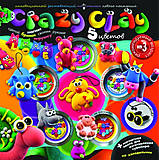 Пластилин Crazy Clay для детского творчества, CRC-01-03, купить