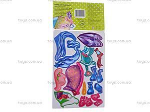 Набор с мягкими наклейками «Блондинка», VT4206-09, игрушки