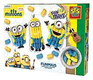 Набор для творчества «Миньоны» серии «Забавная кукуруза», 24996S, магазин игрушек