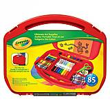 Набор для творчества в удобном красном чемоданчике, 04-2704-2