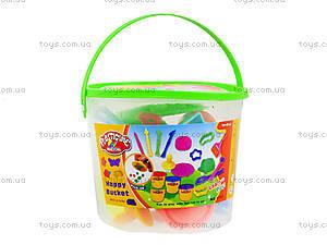 Детский набор для творчества в ведре, 9101, игрушки