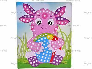 Набор для творчества «Веселая мозаика», МЭЛ-0102, детские игрушки